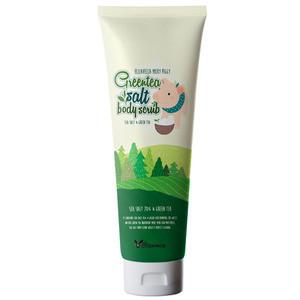Elizavecca Milky Piggy Green Tea Salt Body Scrub 300ml