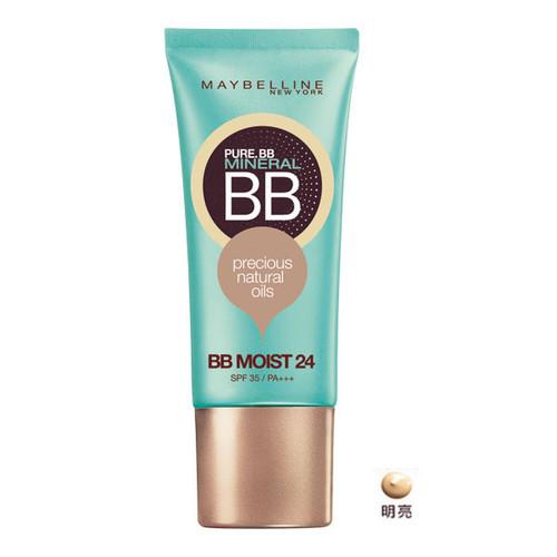 MAYBELLINE Pure Mineral BB Cream Precious Natural Oils BB Moist 24 SPF 35/PA+++