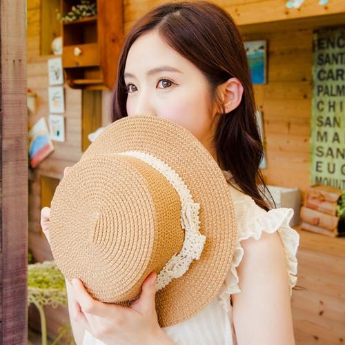 Lace Knit Gentleman Hat