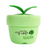 TONYMOLY Clean Dew Broccoli Sprout Cleansing Cream