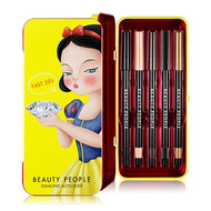 BEAUTY PEOPLE Snow White Limited Edition Diamond Fast 10's Auto Eyeliner Set