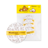 A'PIEU Air Fit Tension Pact Puff Rilakkuma Edition