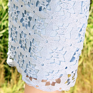 Lace Flower Petal Skirt