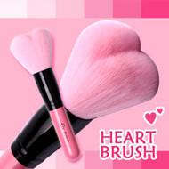 CORINGCO CoC Lovely Pink Heart  Multi Volume Makeup Brush