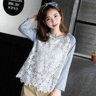 Knitting Lace Cotton Top