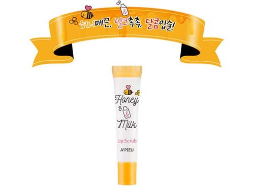 A'PIEU Honey & Milk Lip Scrub