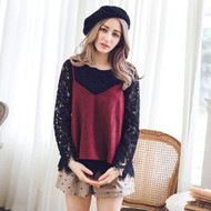 Two Pieces Lace Blouse