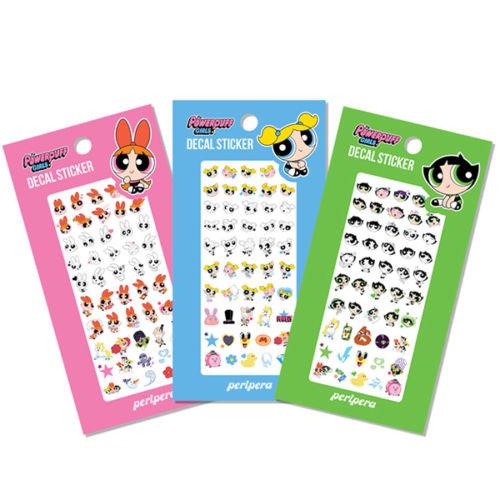 peripera Decal Nail Sticker Powerpuff Girls
