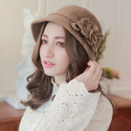 Flower Mesh Retro Cap