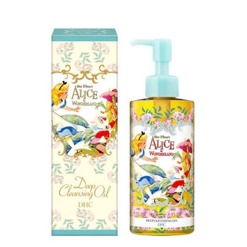 DHC Japan x Disney Alice in Wonderland Deep Cleansing Oil Blue Edition