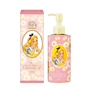 DHC Japan x Disney Alice in Wonderland Deep Cleansing Oil Pink Edition 200ml