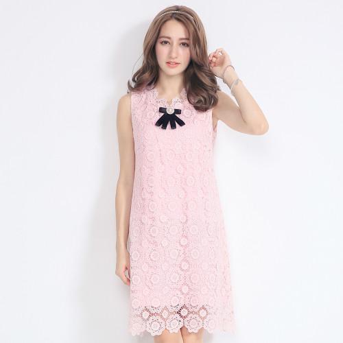 Romantic  Hollow Lace Dress