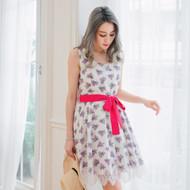 Pattern Lace Dress