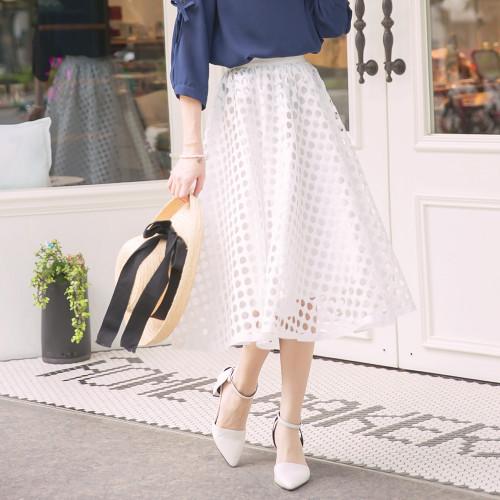 Hollow Umbrella Pendulum Skirt