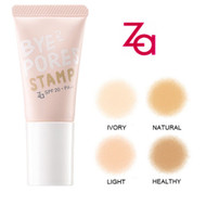 Za Bye Bye Pores Stamps Sponge Liquid Foundation