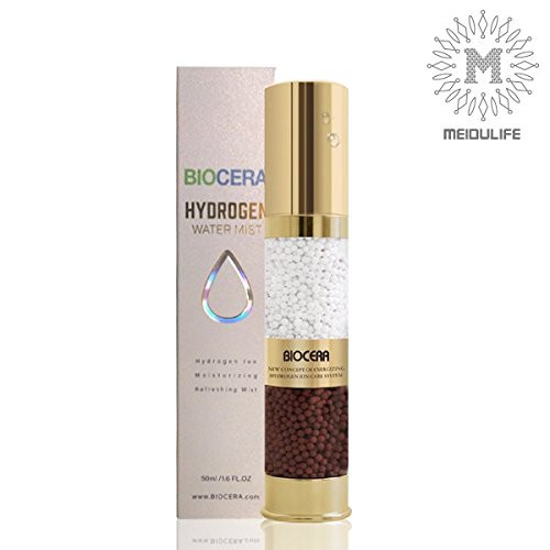 BIOCERA Hydrogen Water Mist Gold Spray