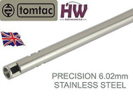 AIRSOFT PRECISION INNER BARREL 6.02 STAINLESS STEEL TIGHT BORE 715mm TOMTAC 6.03