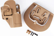 AIRSOFT CQC SERPA PISTOL BELT HARD Holster for G17 G18 G22 TAN SAND UK