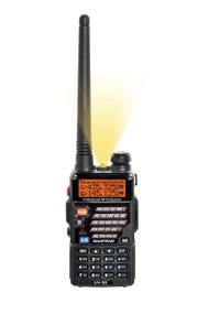 Airsoft 2 Way Dual Band Radio Set Kit Baofeng Uv-5R Headset 100% Uk