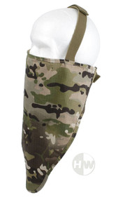 AIRSOFT MULTICAM MTP PROTECTOR GAITER CAMO BALACLAVA NECK UK FISHING