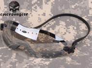 AIRSOFT OPS CORE LOW PROFILE SHOOTING GOGGLES SLIMLINE HELMET GLASSES CLEAR UK