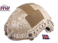 AIRSOFT MH TYPE OPS CORE FAST BASE JUMP HELMET AOR1 WITH ARC RAILS