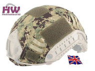 AIRSOFT HELMET COVER OPS CORE JUMP RAIL AOR2 FAST UK DELIVERY