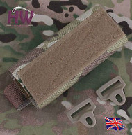 AIRSOFT OPS CORE TACTICAL HELMET RAIL VELCRO COUNTER WEIGHT POUCH MULTICAM