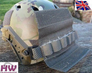 AIRSOFT OPS CORE TACTICAL HELMET RAIL VELCRO COUNTER WEIGHT POUCH GREEN OD FG UK