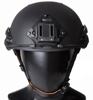 AIRSOFT AF OPS TACTICAL HELMET BLACK AIRFRAMES UK FAST DELIVERY RAIL