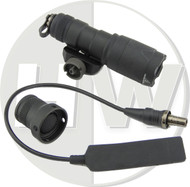 AIRSOFT EMERSON SUREFIRE STYLE M300 SCOUT WEAPON LIGHT TORCH CREE LED BLACK