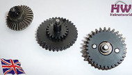 AIRSOFT HIGH SPEED 13:1 GEAR SET M4 AK47 V2 V3 HIGH DENSITY STEEL gearbox cogs