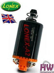 AIRSOFT AEG MOTOR HIGH TORQUE LONEX A2 ORANGE ASG SHORT 170 160 140 M120 AK47 V3