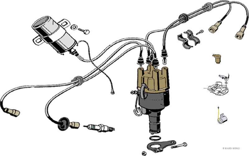 vw type 2 ignition - switch