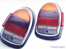 Tail Light - Set Bug 1968 to 1969 Euro Lenses