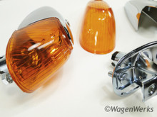 Turn Signal Assemblies - Bug 1958 to 1963 - Amber