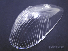 Turn Signal Lens - Bug 1958 to 1963 - Clear Hella