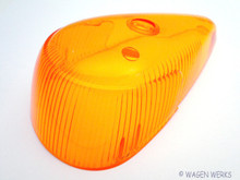 Turn Signal Lens - Bug 1968 to 1969 - Amber LB