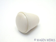 Wiper Switch Knob - Bug 1952 to 1957  Og - Ivory
