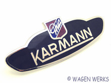 Karmann Badge - Karmann Ghia 1960 to 1974 - Germany