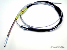 Emergency Brake Cable - Type 2 1955 to 1959