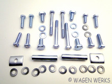 Bumper Hardware Kit - Front Type 2 1959 to 1967
