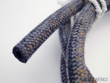 Fuel Hose - Braided 5mm - Cloth Covered - German