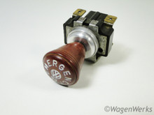 Emergency Flasher Switch with Knob - Type 2 1963 to 1965