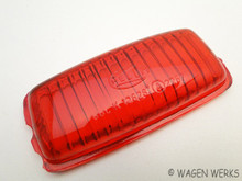 Brake Light Lens - Type 2 1950 to 1957