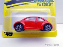 Matchbox - VW Concept - Red - SuperFast 1997
