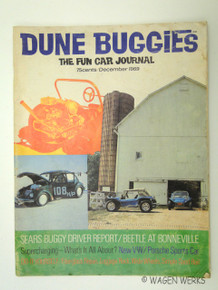 Hot VWs Magazine - 1969 December Dune Buggies