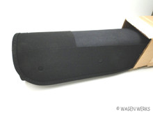 Cloth Ragtop Sunroof Cover - Bug 1957 to 1963 Black Canvas