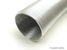 Fresh Air Hose - Heater - 1200c to 1600cc - Aluminum
