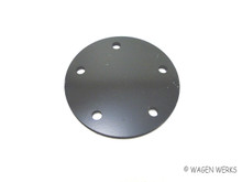 Gas Tank Sending Unit Delete Plate - Type 2 1955 to 1967